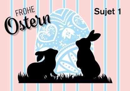 Bild von Osterkarten A5