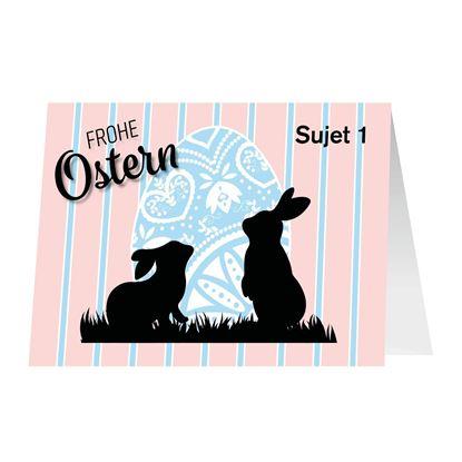 Bild von Osterkarten A5 (Doppelkarte)